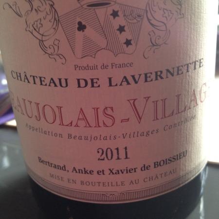 Château de Lavernette Beaujolais-Villages Gamay 2016