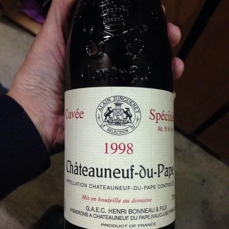 Henri Bonneau Cuvée Spéciale Châteauneuf-du-Pape Red Rhone Blend 1998