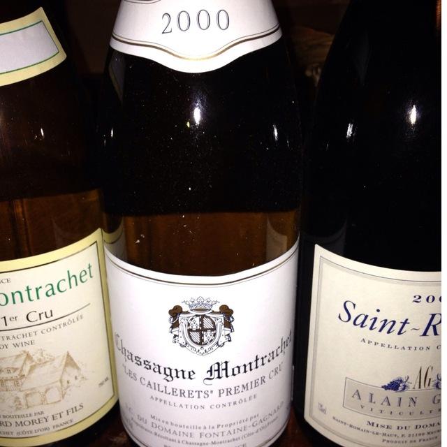 Domaine Fontaine-Gagnard Les Caillerets Chassagne-Montrachet 1er Cru Chardonnay 2015