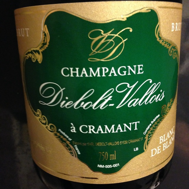 Diebolt-Vallois Brut Blanc de Blancs Champagne Chardonnay NV