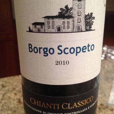 Borgo Scopeto (Tenuta Caparzo) Chianti Classico Sangiovese Blend 2013 (375ml)