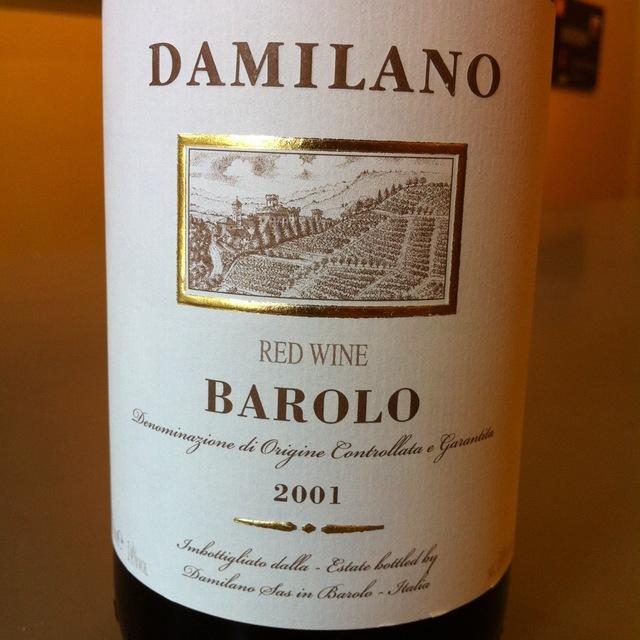 Barolo Nebbiolo 1982