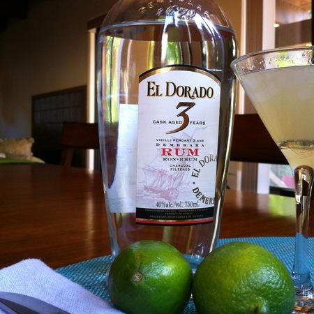 El Dorado Cask Aged 3 Year Old Demerara White Rum  NV