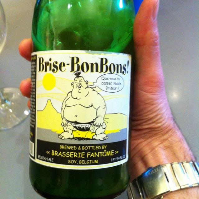 Brasserie Fantôme Brise-BonBons! Saison Farmhouse Ale  NV