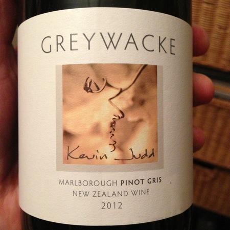 Greywacke Marlborough Pinot Gris 2012