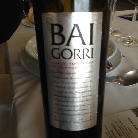 Bodegas Baigorri Blanco Fermentado en Barrica Rioja 2016