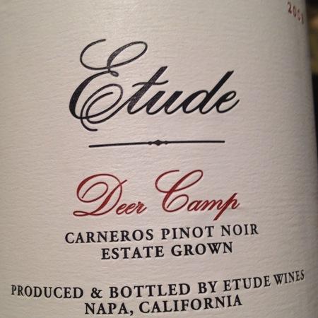 Etude Deer Camp Pinot Noir 2005