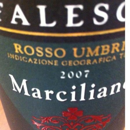 Falesco Marciliano Rosso Umbria Cabernet Sauvignon 2000
