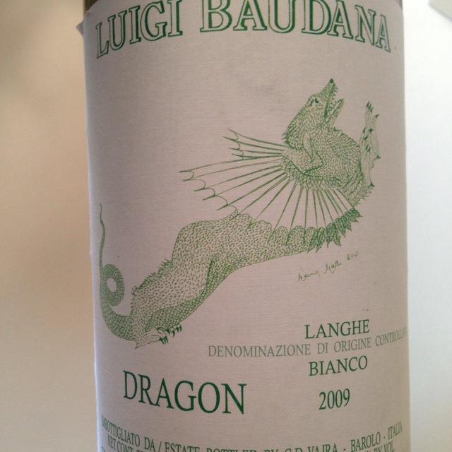 Dragon Langhe Bianco Chardonnay Blend 2015