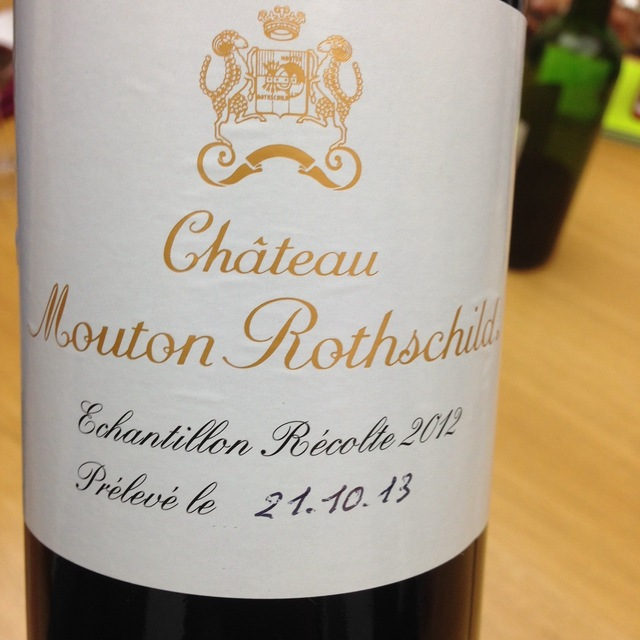 Château Mouton Rothschild Pauillac Red Bordeaux Blend 2012
