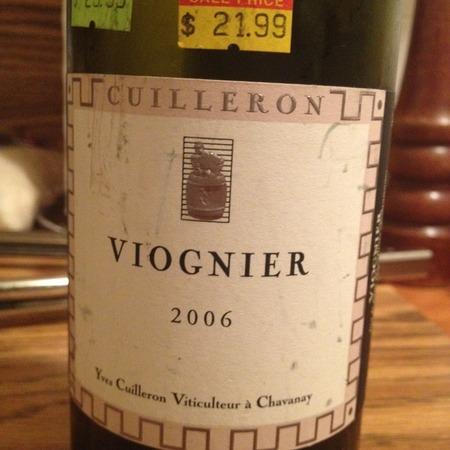 Yves Cuilleron Vin de Pays des Collines Rhodaniennes Viognier 2015