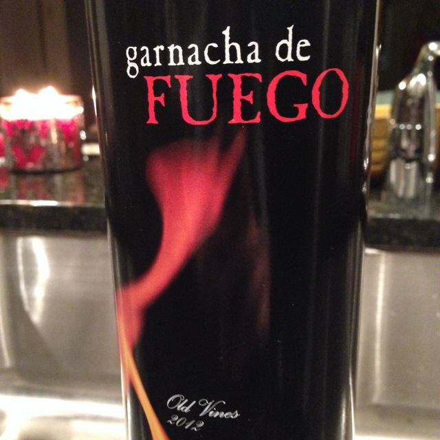 Bodegas Breca  Garnacha de Fuego Old Vines Calatayud Garnacha  2012