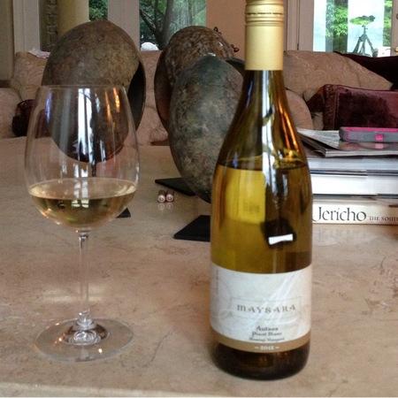Maysara Winery Autees Pinot Blanc NV