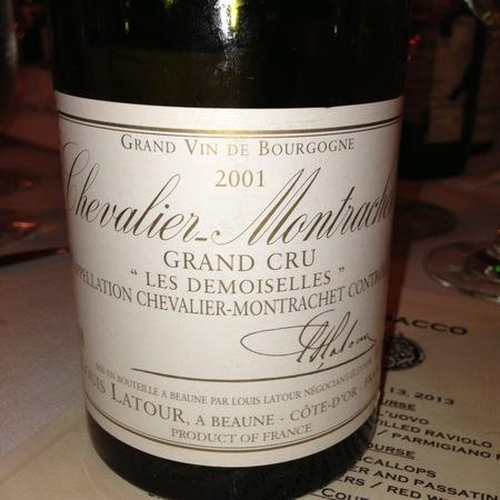 Louis Latour Les Demoiselles Chevalier-Montrachet Grand Cru Chardonnay 1986