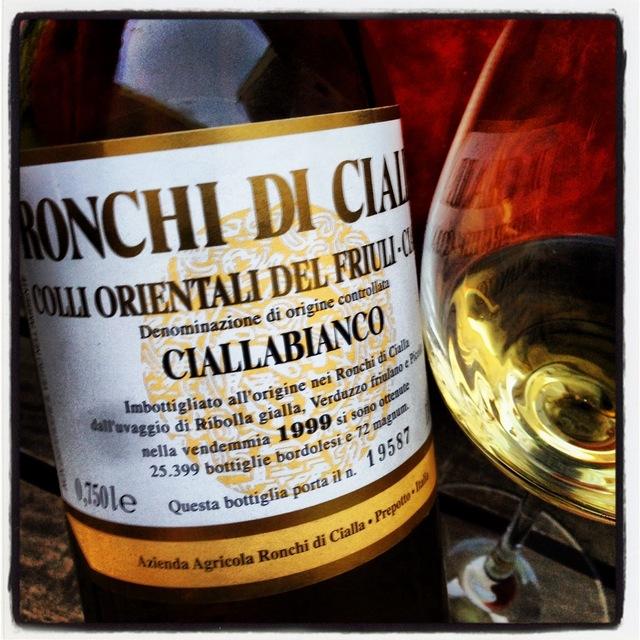 Ronchi di Cialla Ciallabianco Colli Orientali del Friuli-Cialla Ribolla Gialla Blend 1999