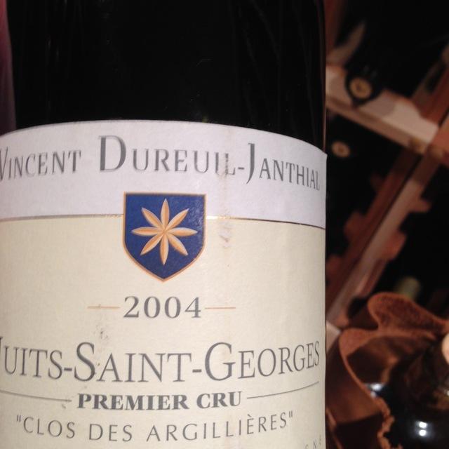 Clos des Argillières Nuits St. Georges 1er Cru Pinot Noir 2005