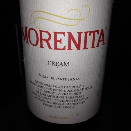 Emilio Hidalgo Morenita Cream Jerez-Xérès-Sherry NV