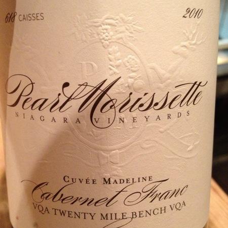 Pearl Morisette Estate Winery Cuvee Madeline Cabernet Franc 2012