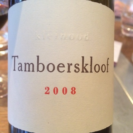 Kleinood Tamboerskloof Syrah 2013
