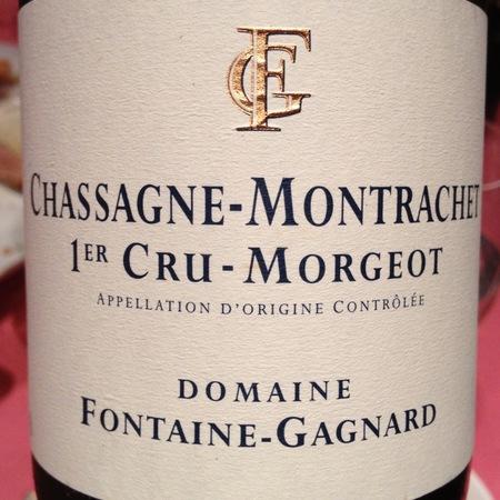 Domaine Fontaine-Gagnard Morgeot Chassagne-Montrachet 1er Cru Chardonnay 2015