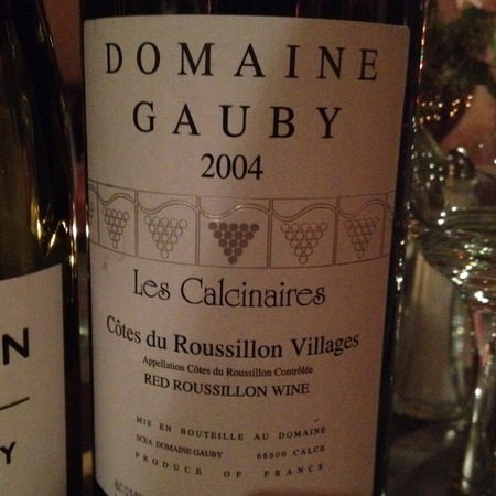Domaine Gauby Côtes du Roussillon Villages Grenache Blend 1990