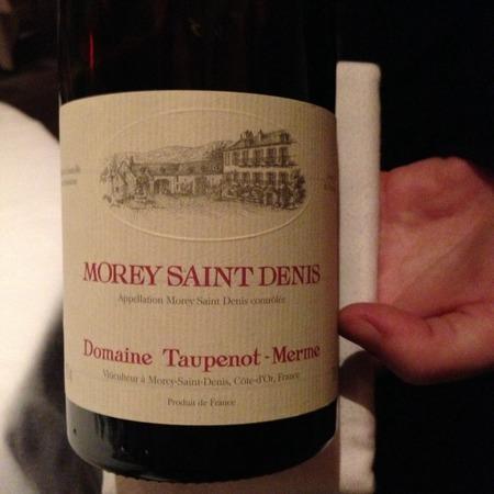 Domaine Taupenot-Merme Morey St. Denis Pinot Noir 2015