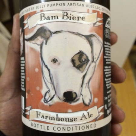 Jolly Pumpkin Artisan Ales Bam Bière Bottle Conditioned Farmhouse Ale (375ml)