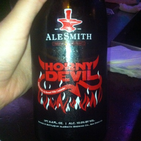 AleSmith Brewing Company Horny Devil Strong Pale Ale NV