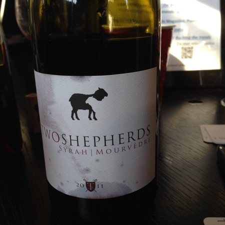 Two Shepherds Syrah Mourvedre 2011