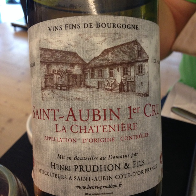 La Chatenière Saint-Aubin 1er Cru Chardonnay 2012