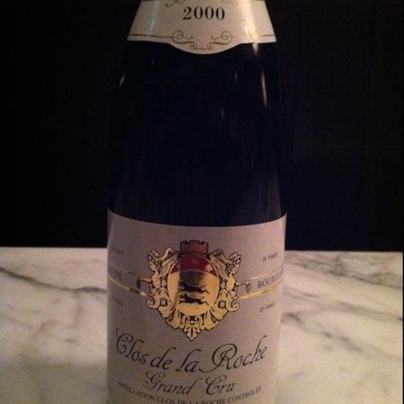 Hubert Lignier Clos de la Roche Grand Cru Pinot Noir 2014
