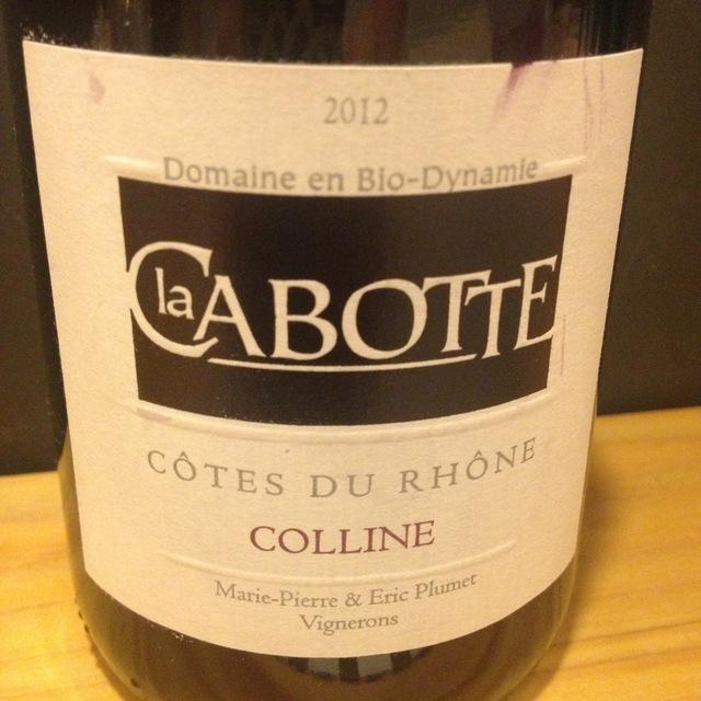 Domaine la Cabotte Colline Côtes du Rhône Red Rhône Blend 2016