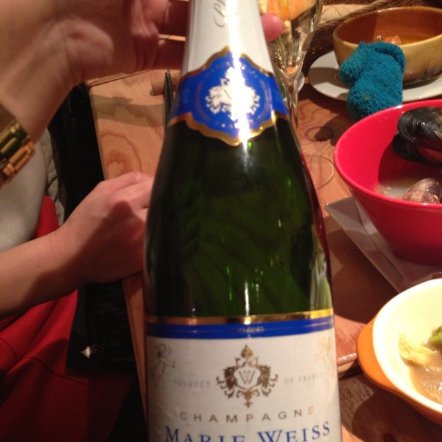 Marie Weiss Brut Champagne NV