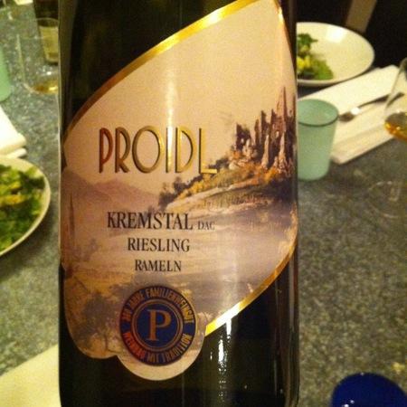 Proidl Kremstal Riesling 2014