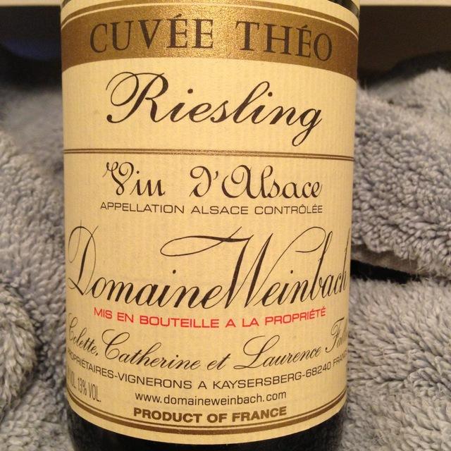 Cuvée Théo Alsace Riesling 2014
