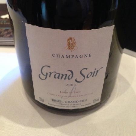 Louis de Sacy Grand Soir Grand Cru Brut  NV