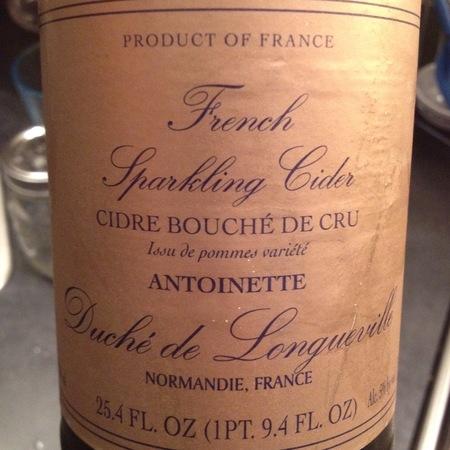 Duché de Longueville Antoinette Cidre Bouché de Cru Apple NV