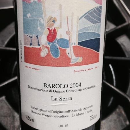 Azienda Agricola Roberto Voerzio La Serra Barolo Nebbiolo 2013