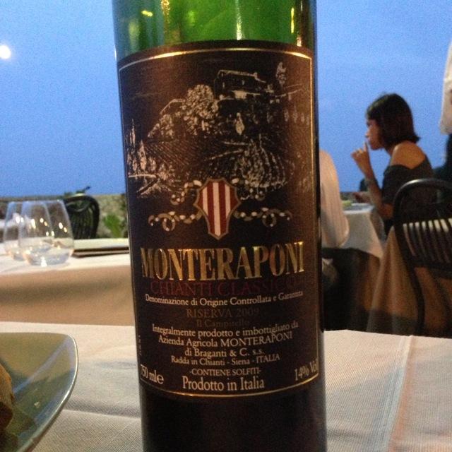 Monteraponi Il Campitello Riserva Chianti Classico Sangiovese Blend 2014