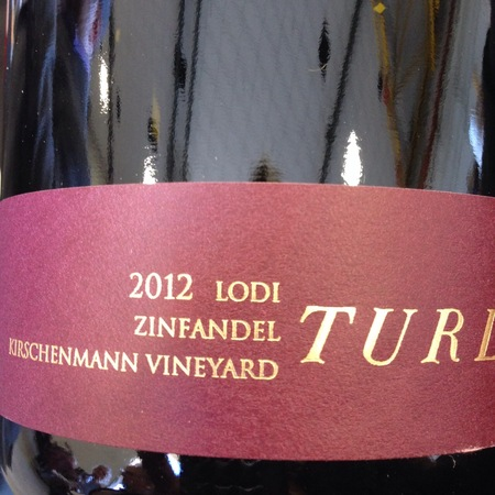 Turley Kirschenmann Vineyard Zinfandel 2014
