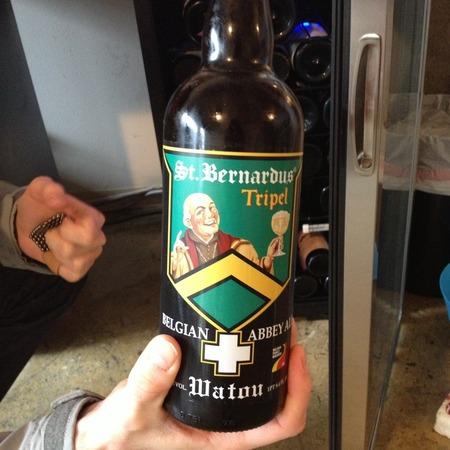 St. Bernardus Tripel Belgian Abbey Ale NV (12oz.)