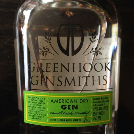 Greenhook Ginsmiths American Dry Gin NV