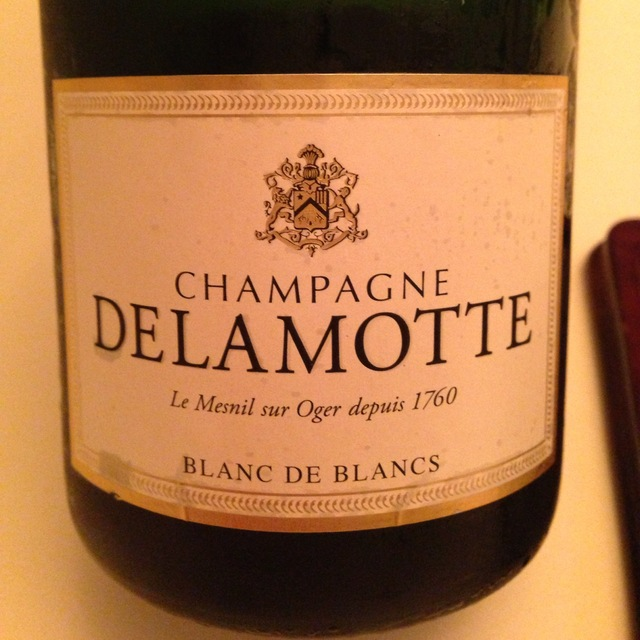 Delamotte Brut Blanc de Blancs Champagne Chardonnay NV