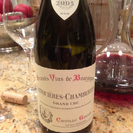 Camille Giroud Latricières-Chambertin Grand Cru Pinot Noir 2005