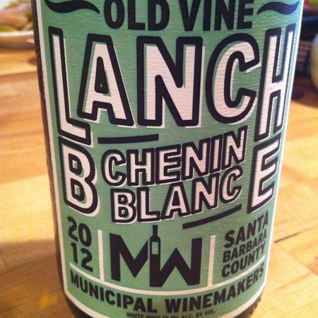 Municipal Winemakers Blanche Old Vine Chenin Blanc 2015