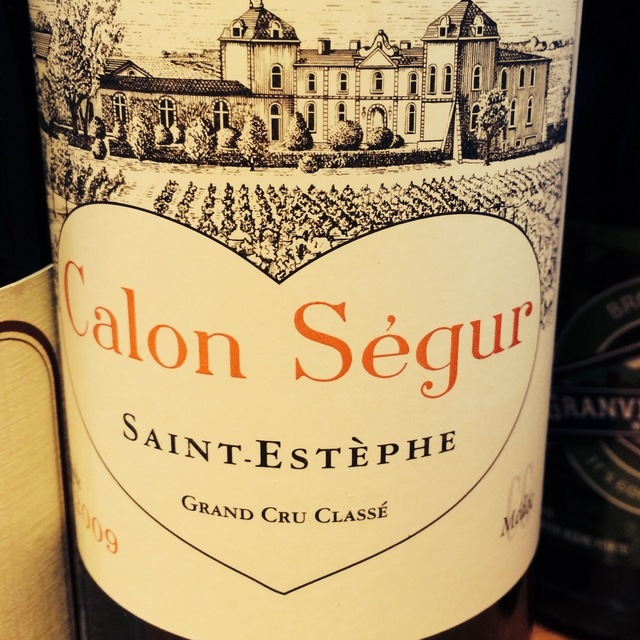 Château Calon-Ségur Saint-Estèphe Red Bordeaux Blend 2009