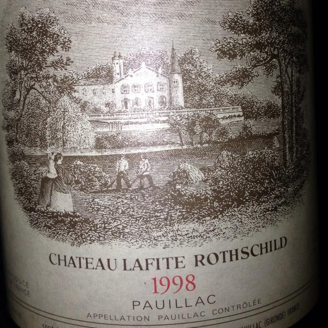 Château Lafite Rothschild Pauillac Red Bordeaux Blend 1982