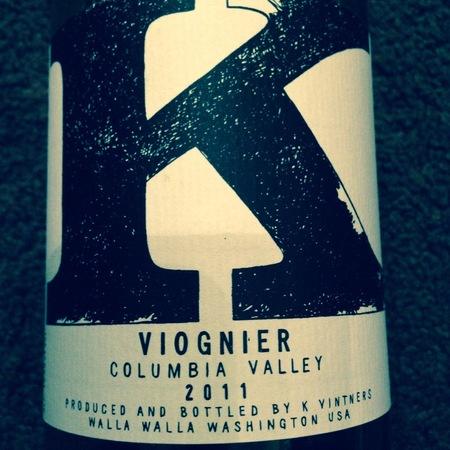 K Vintners Columbia Valley Viognier 2015