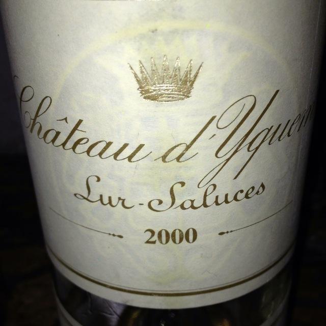 Château d'Yquem Sauternes Sémillon-Sauvignon Blanc Blend 2000