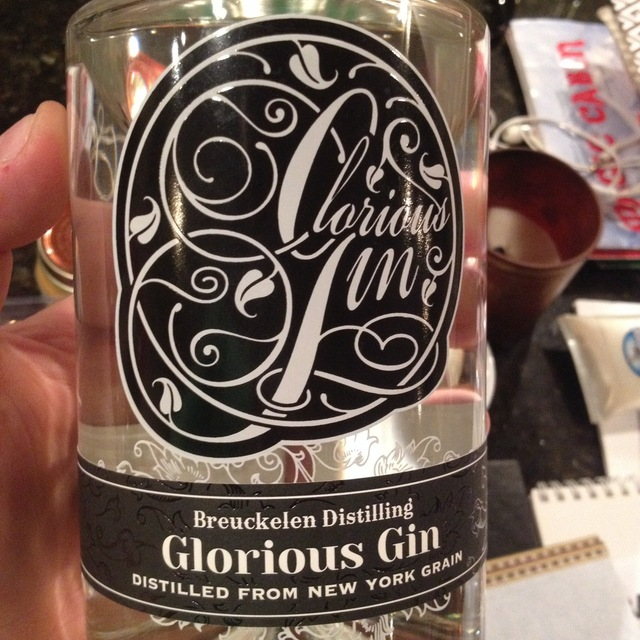 Breuckelen Distillery Glorious Gin NV